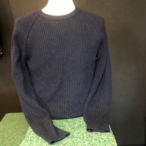 Banana Republic navy crew neck sweater